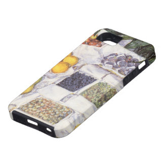 Fruit Stand by Gustave Caillebotte, Vintage Art iPhone SE/5/5s Case