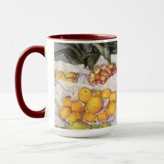 Fruit Stand by Gustave Caillebotte, Vintage Art Mug