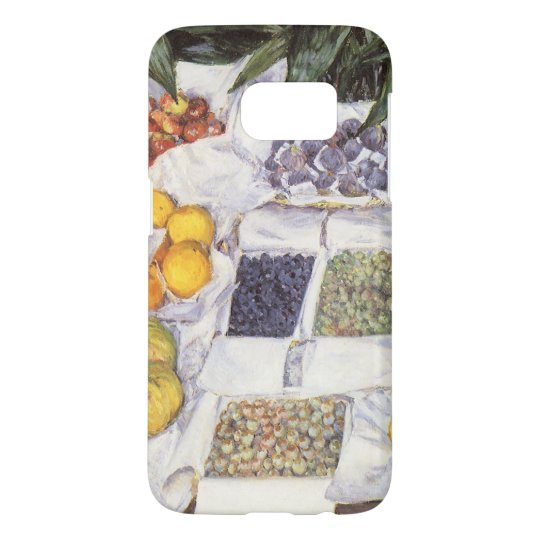Fruit Stand by Gustave Caillebotte, Vintage Art Samsung Galaxy S7 Case