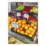 Fruit Stand Hoboken NJ Greeting Card