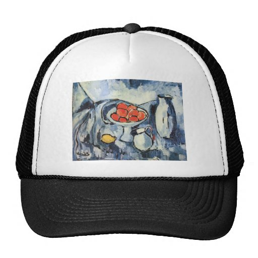 fruit still in blue vlamink trucker hat zazzle