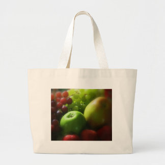 Fruit Still Life Large Tote Bag