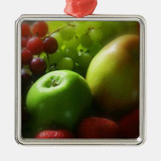 Fruit Still Life Metal Ornament