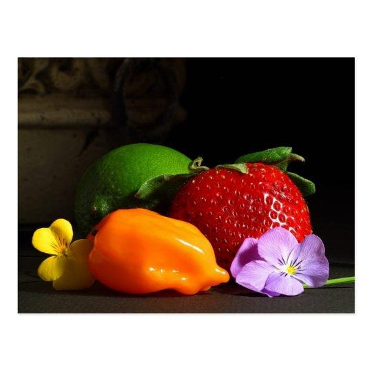 fruit-still-life postcard