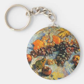 Fruit Still Life, Vincent Van Gogh Keychains