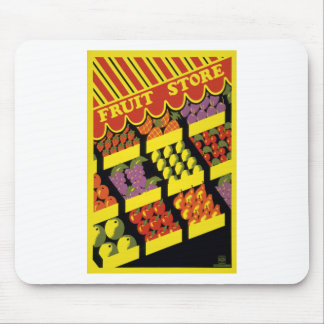 Fruit Store Mouse Pad