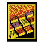 Fruit Store Postcard