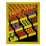 Fruit Store- WPA Poster -