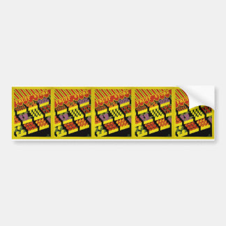 Fruit Store- WPA Poster - Car Bumper Sticker