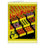 Fruit Store- WPA Poster - Card