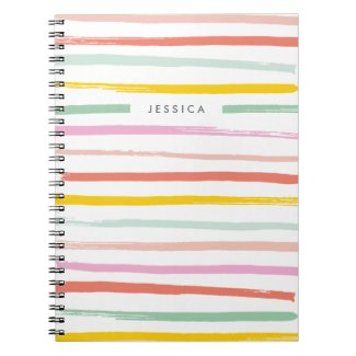Fruit Stripes Journal Note Book