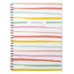 Fruit Stripes Journal - Watermelon