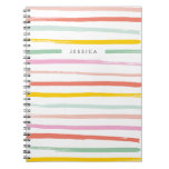 Fruit Stripes Journal - Watermelon Note Book