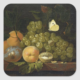 Fruit Study Square Sticker