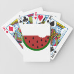 Fruit Sweet Smoothie Watermelon Dessert Destiny Bicycle Playing Cards