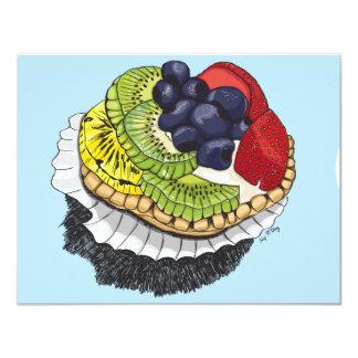 Fruit Tart Dessert Card