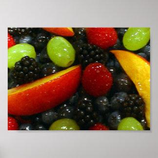 Fruit Tart - Fairfax, Virginia Poster