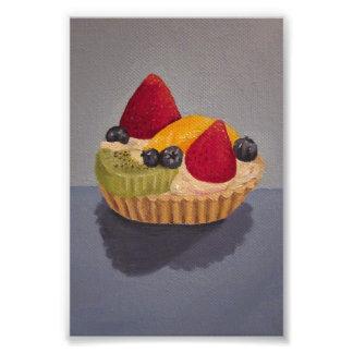 Fruit Tart Painting Photo Print