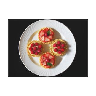 Fruit Tartlet Canvas Print