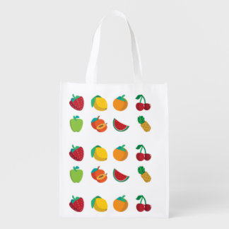 Fruit-tastic Reusable Grocery Bag