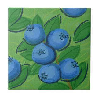 Fruit Tile: Blueberries Tile