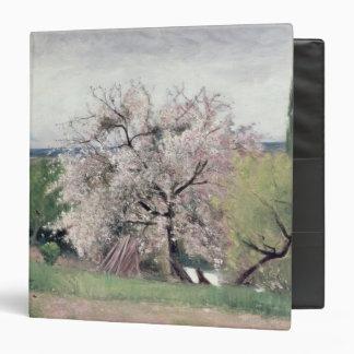 Fruit Tree in Blossom, Bois-le-Roi 3 Ring Binder