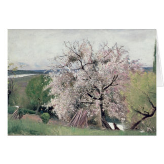 Fruit Tree in Blossom, Bois-le-Roi Greeting Cards