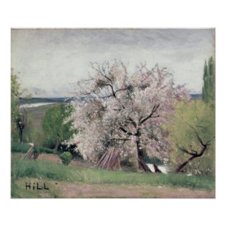 Fruit Tree in Blossom, Bois-le-Roi Poster