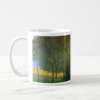 Fruit Trees by Gustav Klimt Mugs