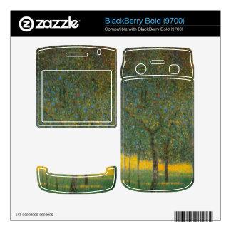Fruit Trees by Gustav Klimt BlackBerry Skin