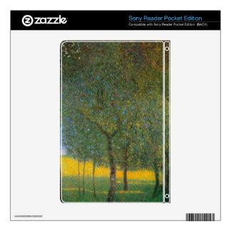 Fruit Trees by Gustav Klimt Skins For Sony Reader