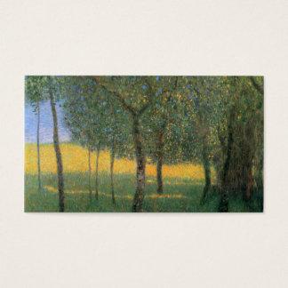 Fruit Trees - Gustav Klimt Business Card