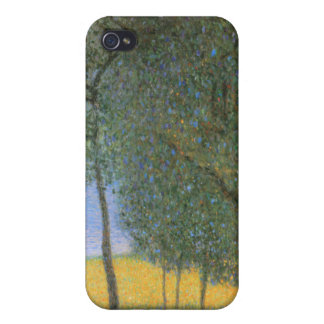 Fruit Trees - Gustav Klimt iPhone 4 Cover