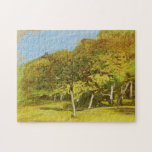 Fruit Trees Monet Fine Art Jigsaw Puzzle