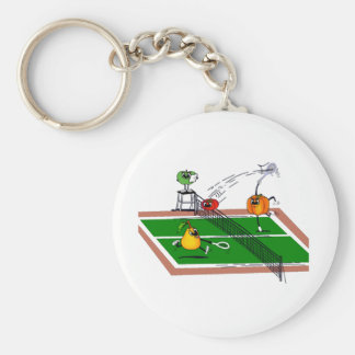 Fruit &Veg Tennis Keychain