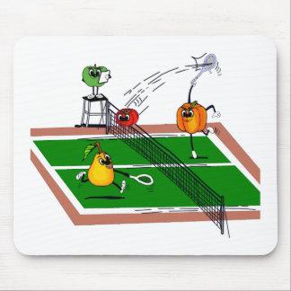 Fruit &Veg Tennis Mouse Pad