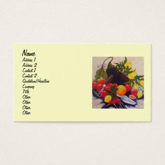 Fruit & Vegetable Medley Business Card