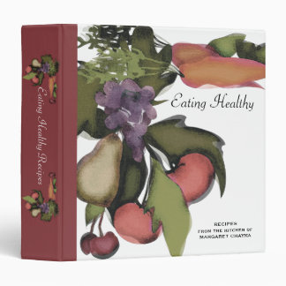Fruit vegetable mega plant cooking baking recipe c 3 ring binder