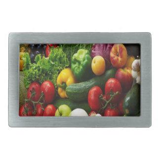FRUIT & VEGETABLES BELT BUCKLE