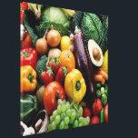 "FRUIT  VEGETABLES CANVAS PRINT<br><div class=""desc"">FRUIT  VEGETABLES</div>"