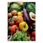 FRUIT & VEGETABLES CARD