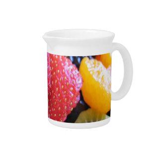 FRUIT VEGETABLES DRINK PITCHER