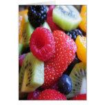 FRUIT VEGETABLES GREETING CARD