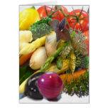 FRUIT & VEGETABLES GREETING CARDS