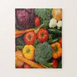 FRUIT & VEGETABLES JIGSAW PUZZLES