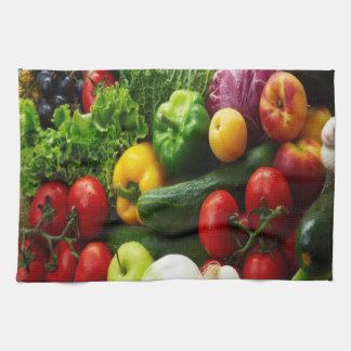 FRUIT & VEGETABLES KITCHEN TOWEL