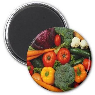 FRUIT & VEGETABLES FRIDGE MAGNETS