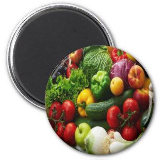 FRUIT & VEGETABLES FRIDGE MAGNET