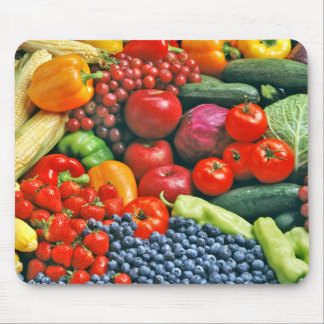 fruit vegetables mousepads