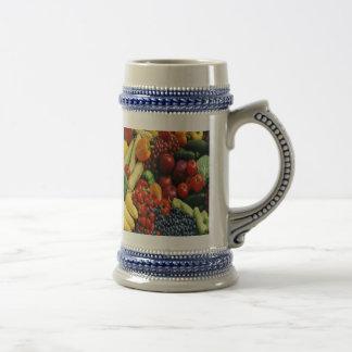 FRUIT & VEGETABLES COFFEE MUG